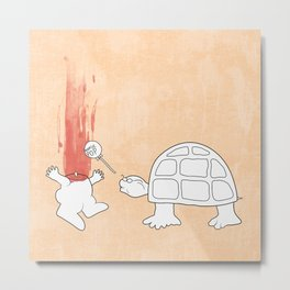 Mr. Turtle's Revenge Metal Print