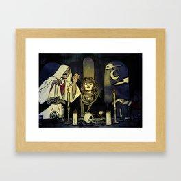 Prouvaire's Seance Framed Art Print