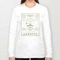 ouija Long Sleeve T-shirts featuring Ouija Board by LordofMasks