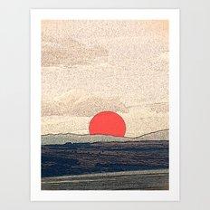 Tokyo drift Art Print