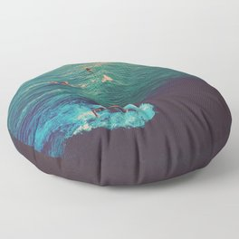 Ride the Wave Floor Pillow