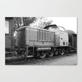 Age Electric Locomotive Canvas Print