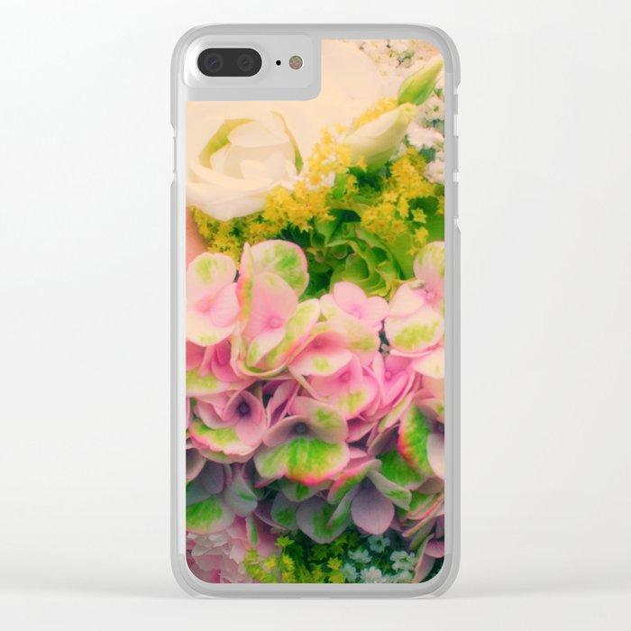 bridal bouquet Clear iPhone Case