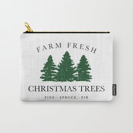 Farm Fresh Christmas Trees Carry-All Pouch