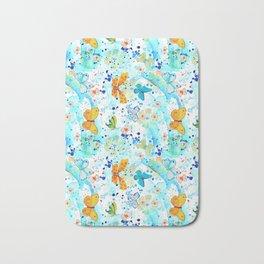Summer Butterflies Bath Mat