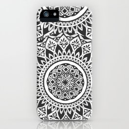 """Dream It, Believe it & Live it"" Mandala Print iPhone Case"