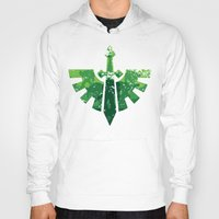 warhammer Hoodies featuring Angels on the horizon by HenkusFilijokus