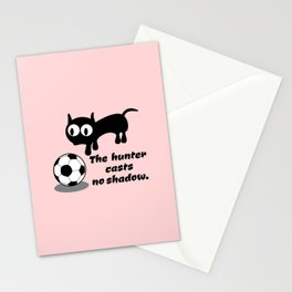 Cat Football Stationery Cards