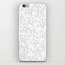 Hello Cats // Lots of Cats iPhone Skin