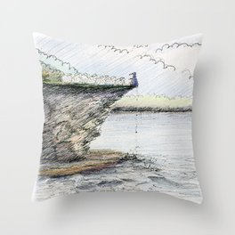 You Will Obey! Throw Pillow
