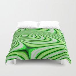 Oozing Green Irish Duvet Cover