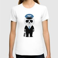 aviation T-shirts featuring Aviation Bear by Elle Moz