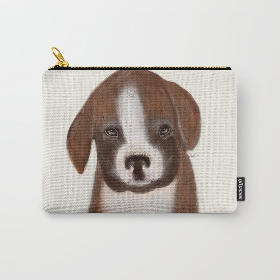 little boxer Carry-All Pouch