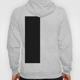BLACK AND WHITE SPLIT - SIMPLE but EFFECTIVE Hoody