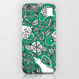 Tea Time Green iPhone Case