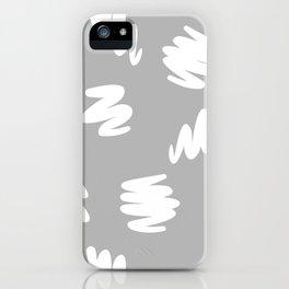 Marker Brush Pattern iPhone Case