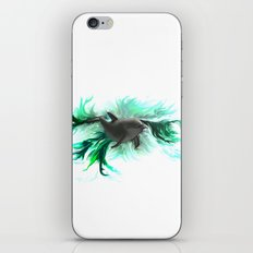 Dolphin Baby iPhone & iPod Skin