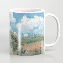 Alfred Sisley The Road from Versailles to Saint-Germain Coffee Mug
