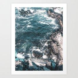 Ocean Conservation - 10% of Proceeds to Conservation Efforts Art Print