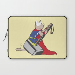 The Catty Thor Laptop Sleeve
