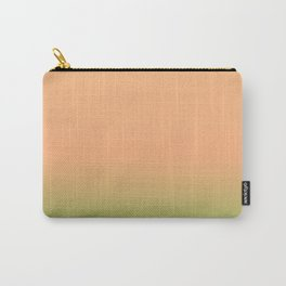 Melon | Pastel orange and green gradient Carry-All Pouch