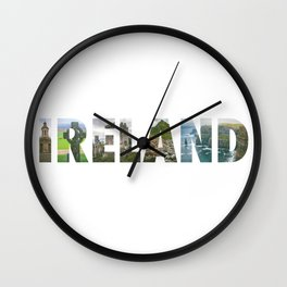 Views from Ireland Wall Clock