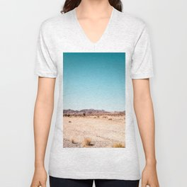 Desert Flower Unisex V-Neck