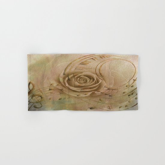 Timeless Love Abstract Hand & Bath Towel
