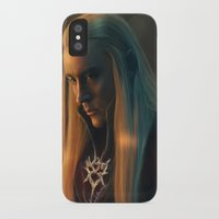 thranduil iPhone & iPod Cases featuring Thranduil by LindaMarieAnson