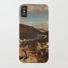 Wind River Mountains and Alpine Lake iPhone X Slim Case