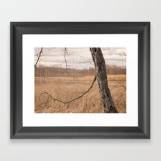 Terrain Framed Art Print