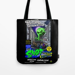 The Snot That Ate Port Harry poster Tote Bag