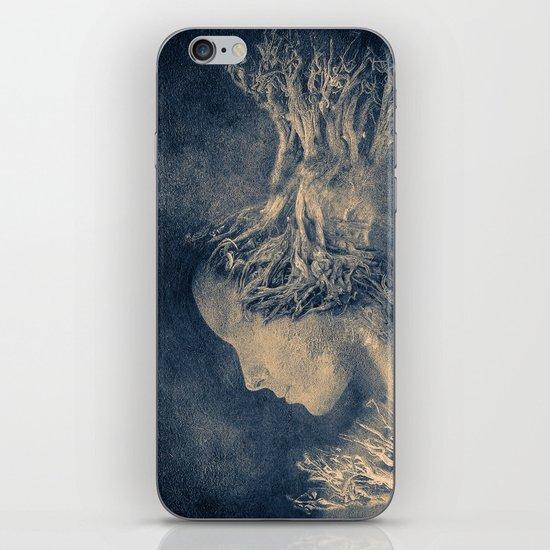 Dark portrait II  (colour option) iPhone & iPod Skin