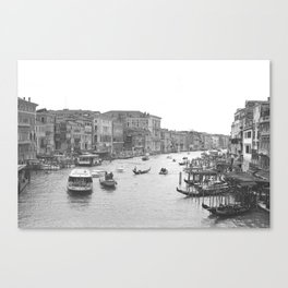 Venice on Film Canvas Print