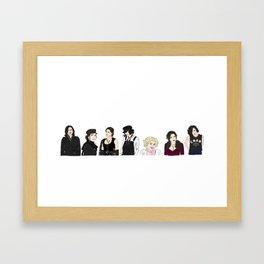 Lana Parrilla/ Regina Mills / The Queen / Roni Framed Art Print