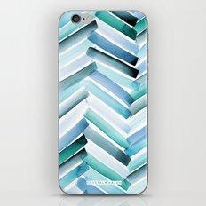 Cycladic Chevron iPhone & iPod Skin