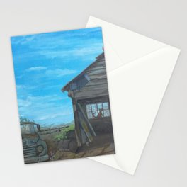 Barn and Old Truck Stationery Cards