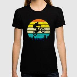 retro mountain bike for mountain biker T-shirt