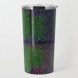 Abstract  Dimensional Art Travel Mug