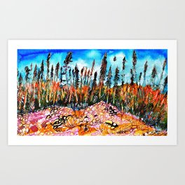 Northern Forest Art Print
