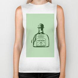 Patron Tequila Pop Art Biker Tank