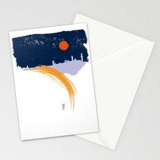 Siena skyline Stationery Cards