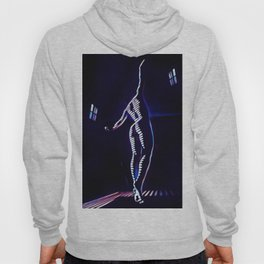 7104s-MM_2026 in Blue Dancing Figure Striped Abstract Nude Woman Hoody