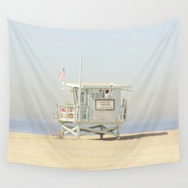 NEVER STOP EXPLORING VENICE BEACH No. 23 Wall Tapestry