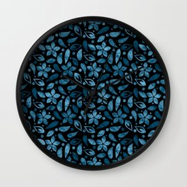 LOVELY FLORAL PATTERN #3 Wall Clock