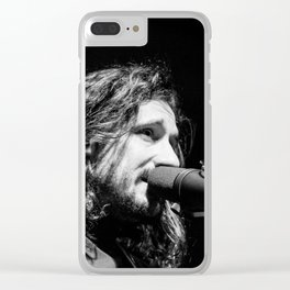 Timberwolf_04 Clear iPhone Case