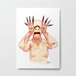 Pale Man Metal Print