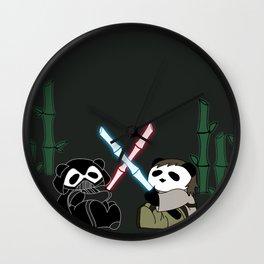 Panda Wars Wall Clock