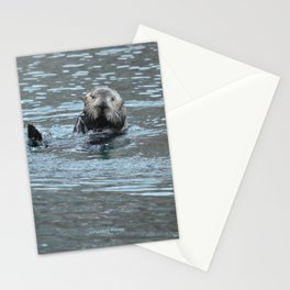 Sea Otter Fellow Stationery Cards