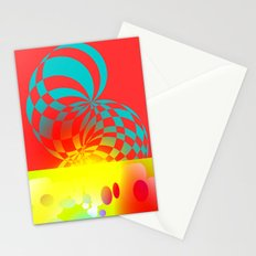 Twisted Invert Stationery Cards